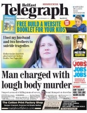 Belfast Telegraph (UK) Newspaper Front Page for 27 February 2015