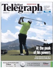 Belfast Telegraph (UK) Newspaper Front Page for 30 May 2015
