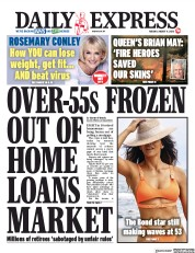 Daily Express (UK) Newspaper Front Page for 11 August 2020