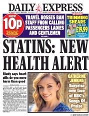 Daily Express (UK) Newspaper Front Page for 14 July 2017