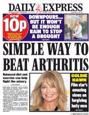 Daily Express (UK) Newspaper Front Page for 16 May 2017