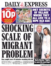 Daily Express (UK) Newspaper Front Page for 26 June 2017