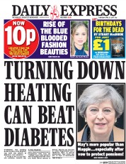 Daily Express (UK) Newspaper Front Page for 27 April 2017