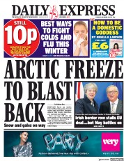 Daily Express (UK) Newspaper Front Page for 5 December 2017