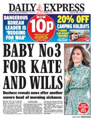 Daily Express (UK) Newspaper Front Page for 5 September 2017
