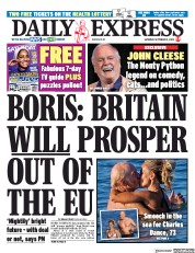 Daily Express front page for 5 September 2020