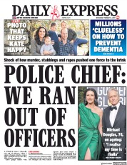 Daily Express () Newspaper Front Page for 6 February 2019