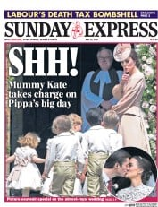 Daily Express Sunday (UK) Newspaper Front Page for 21 May 2017