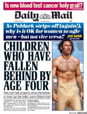 Daily Mail (UK) Newspaper Front Page for 1 June 2018