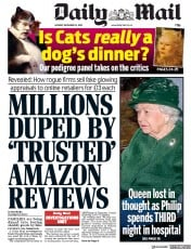 Daily Mail () Newspaper Front Page for 23 December 2019