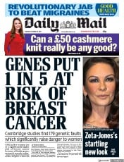 Image result for daily mail uk online news on cancer