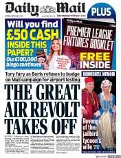 Daily Mail front page for 5 September 2020