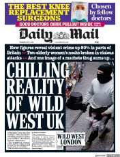 Daily Mail (UK) Newspaper Front Page for 7 June 2018