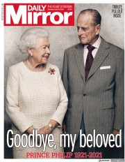 Daily Mirror (UK) Newspaper Front Page for 10 April 2021