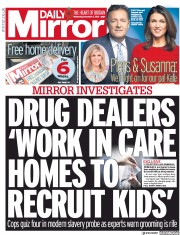 Daily Mirror front page for 11 November 2020