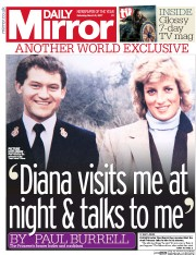 Daily Mirror (UK) Newspaper Front Page for 11 March 2017