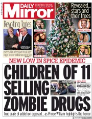 Daily Mirror (UK) Newspaper Front Page for 12 December 2018