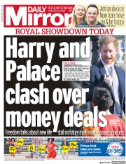 Daily Mirror (UK) Newspaper Front Page for 17 January 2020
