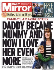 Daily Mirror (UK) Newspaper Front Page for 18 April 2015