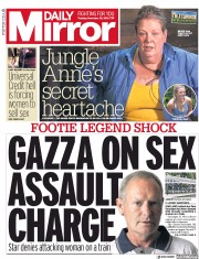 Daily Mirror (UK) Newspaper Front Page for 20 November 2018