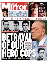 Daily Mirror (UK) Newspaper Front Page for 24 October 2014