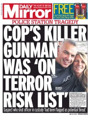 Daily Mirror front page for 26 September 2020
