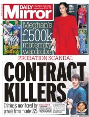Daily Mirror (UK) Newspaper Front Page for 27 February 2019