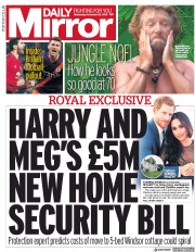 Daily Mirror (UK) Newspaper Front Page for 28 November 2018