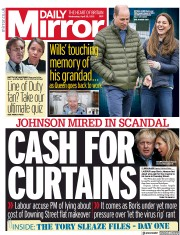 Daily Mirror front page for 28 April 2021