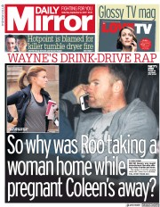 Daily Mirror (UK) Newspaper Front Page for 2 September 2017