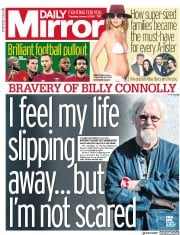 Daily Mirror (UK) Newspaper Front Page for 3 January 2019