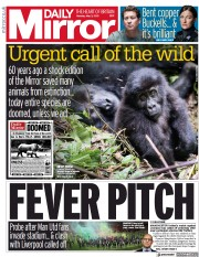 Daily Mirror front page for 3 May 2021
