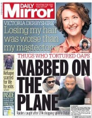 Daily Mirror (UK) Newspaper Front Page for 4 April 2017