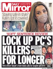 Daily Mirror front page for 5 August 2020