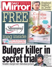 Daily Mirror (UK) Newspaper Front Page for 6 January 2018