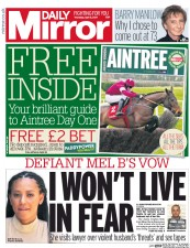 Daily Mirror (UK) Newspaper Front Page for 6 April 2017