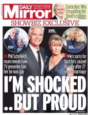 Daily Mirror (UK) Newspaper Front Page for 8 February 2020