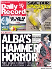 Daily Record () Newspaper Front Page for 27 April 2021