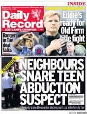 Daily Record (UK) Newspaper Front Page for 6 April 2021