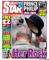 Daily Star front page for 10 April 2021