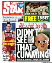 Daily Star front page for 10 July 2020