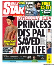 Daily Star (UK) Newspaper Front Page for 10 September 2019