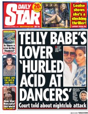 Daily Star (UK) Newspaper Front Page for 11 October 2017