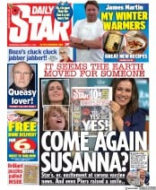Daily Star front page for 11 November 2020