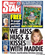 Daily Star () Newspaper Front Page for 11 December 2019
