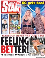 Daily Star () Newspaper Front Page for 11 February 2019