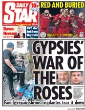 Daily Star (UK) Newspaper Front Page for 11 April 2018