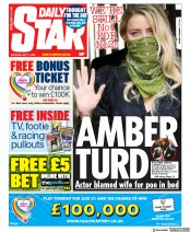 Daily Star front page for 11 July 2020