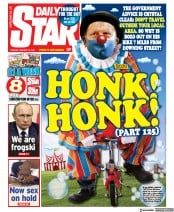 Daily Star front page for 12 January 2021