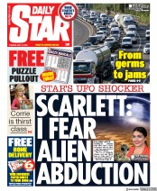 Daily Star front page for 12 May 2020